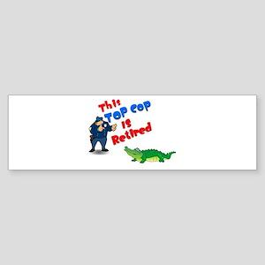 Top Cop 1 Bumper Sticker