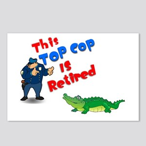 Top Cop 1 Postcards (Package of 8)