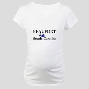 Beaufort South Carolina Maternity T-Shirt