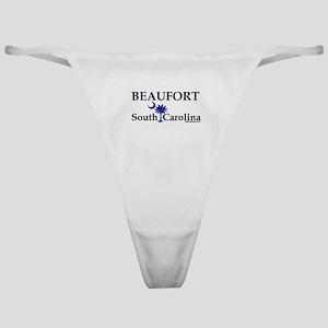 Beaufort South Carolina Classic Thong