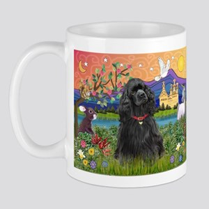 Fantasy Land/Cocker(blk) Mug