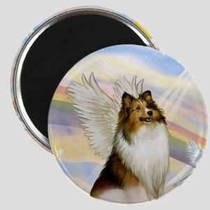 Sable Sheltie Angel Magnet