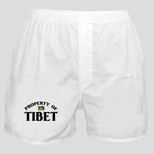 Property Of Tibet Boxer Shorts