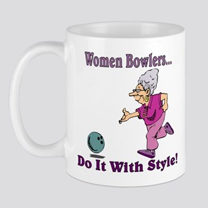 Women Bowlers... Mug