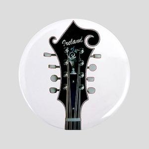 """Irish Mandolin 3.5"""" Button"""