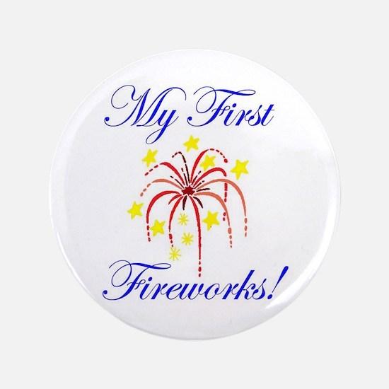 "My First Fireworks! 3.5"" Button"