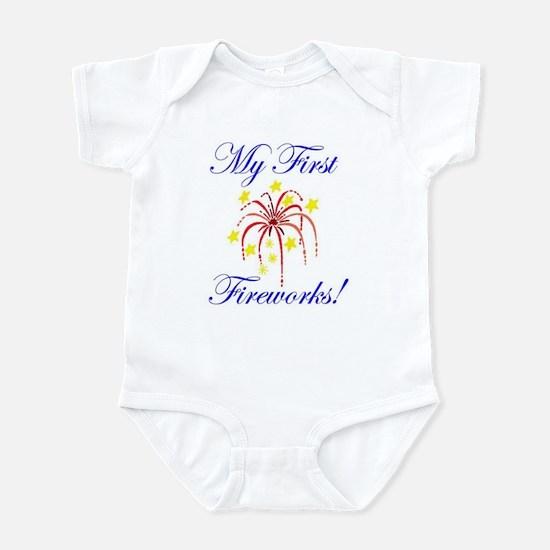 My First Fireworks! Infant Bodysuit