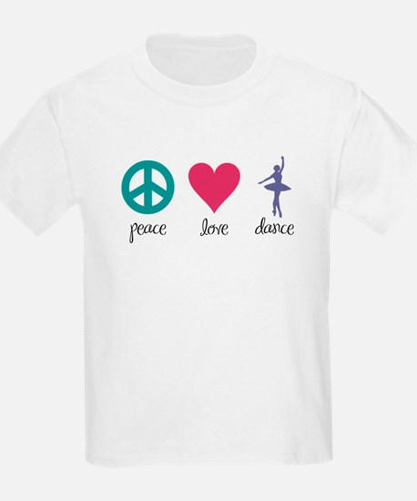 Peace, Love & Dance T-Shirt