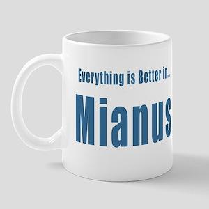 Mianus CT River Park T-shirts Mug