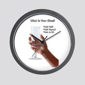 What is your glass? Wall Clock
