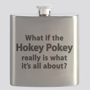 What If The Hokey Pokey Flask