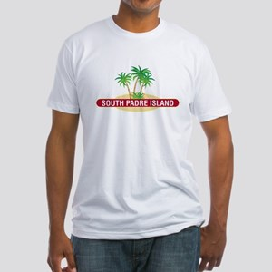 South Padre Palms - Fitted T-Shirt