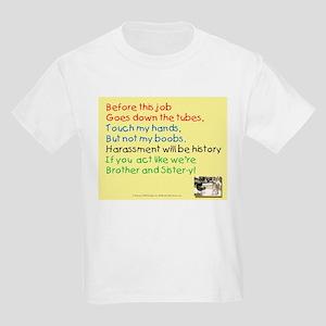 Harassment B Gone Kids T-Shirt