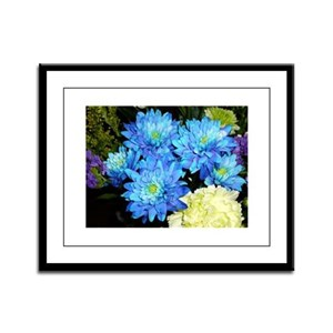 Flowers Framed Panel Print