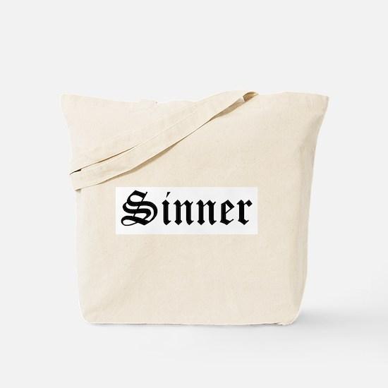 Sinner Tote Bag