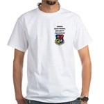 6990TH ELECTRONIC SECURITY SQUADRON White T-Shirt