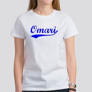Vintage Omari (Blue) Women's T-Shirt