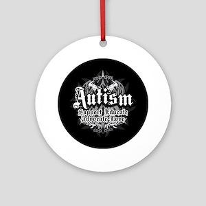 Autism Tribal 2 Ornament (Round)