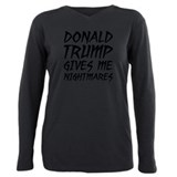 I hate trump Plus Size Long Sleeves