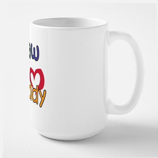 Papaw is My Best Buddy Large Mug