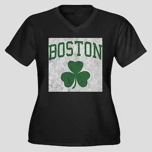 Boston Irish Plus Size T-Shirt