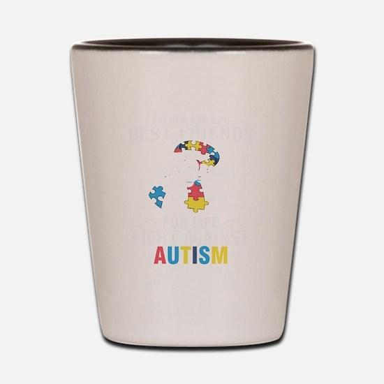 Cute Kids autism Shot Glass
