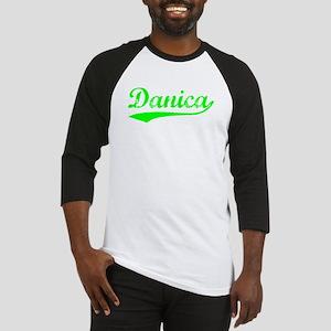 Vintage Danica (Green) Baseball Jersey