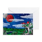 Grumlahk's Moons Greeting Cards (Pk of 10)