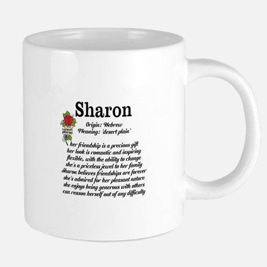 Sharon Name Meaning Design Mugs