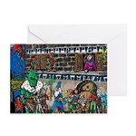 Street Scene Greeting Cards (Pk of 10)