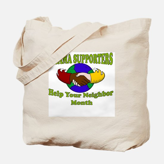 Funny Obama supporters Tote Bag