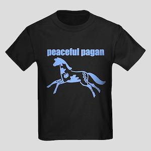 Animal Totem - Horse Kids Dark T-Shirt