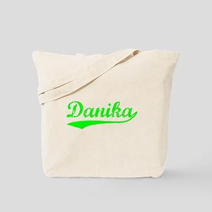 Vintage Danika (Green) Tote Bag