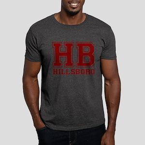 Hillsboro Dark Red Dark T-Shirt