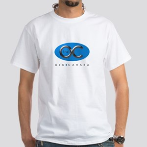 The OC Blue Oval White T-Shirt