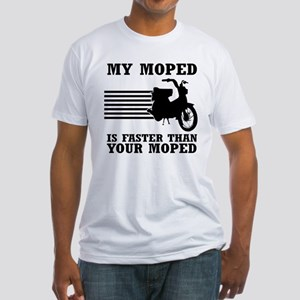 My Moped Fitted T-Shirt