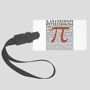 Digits of Pi, Pi Day Math Luggage Tag