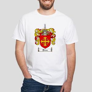 Perez Family Crest White T-Shirt