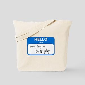 Butt Plug Tote Bag