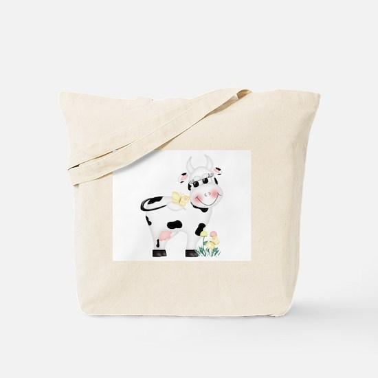 Cute Cow Tote Bag