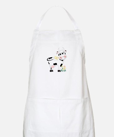 Cute Cow BBQ Apron