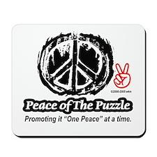 Peace Logo 2 Mousepad