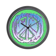 Peace Puzzle Wall Clock