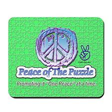 Peace Puzzle Mousepad