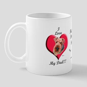 Airedale Design Mug