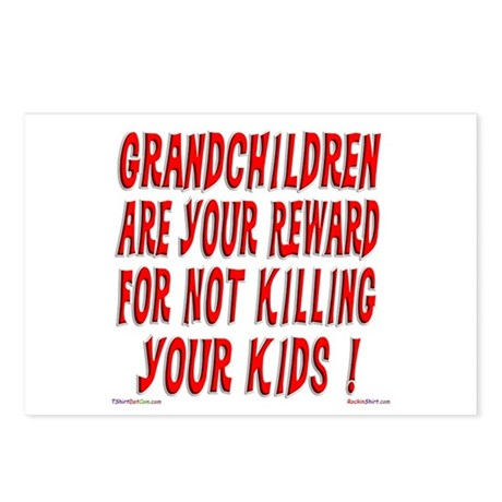 Grandchildren Reward Postcards (Package of 8)