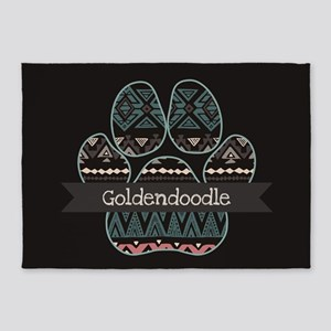 Goldendoodle 5'x7'Area Rug