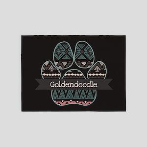 Goldendoodle 5'x7'Area Rug