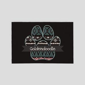 Goldendoodle 4' x 6' Rug