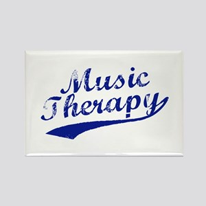 Team Music Therapy Rectangle Magnet